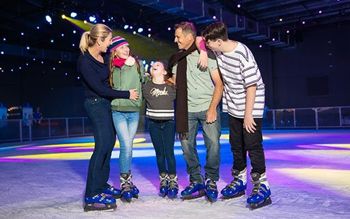 GET 1 FREE TICKET TO WINTERFEST ICE SKATING